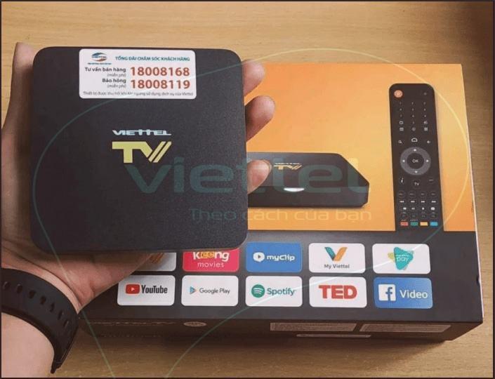 Lắp mạng viettel - truyên hình viettel tv